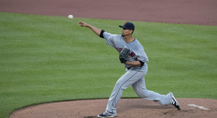 Milwaukee Brewers Cleveland Indians Carlos Carrasco