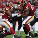 Washington Redskins at Tampa Bay Buccaneers