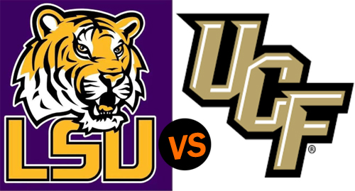2019 Playstation Fiesta Bowl: LSU Tigers vs UCF Knights