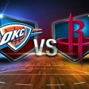 NBA Oklahome City Thunder at Houston Rockets