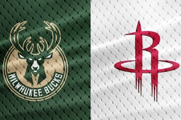 NBA Milwaukee Bucks Houston Rockets