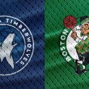NBA Basketball Minnesota Timberwovles at Boston Celtics