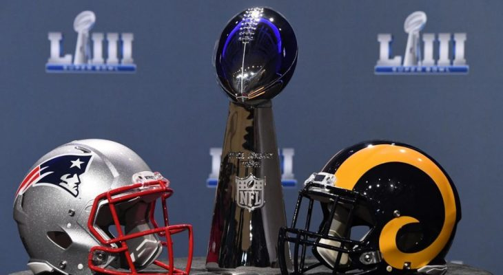 Super Bowl LIII New England Patriots vs Los Angeles Rams