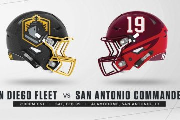 AAF San Diego Fleet at San Antonio Commanders