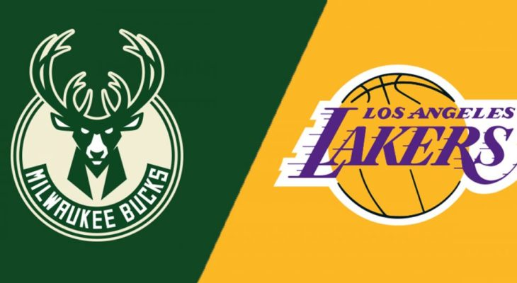 NBA Milwaukee Bucks Los Angeles Lakers
