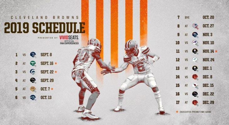 Cleveland Browns Schedule