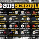Pittsburgh Steelers 2019 Schedule