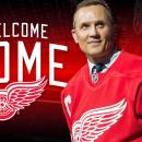 Detroit Red Wings Steve Yzerman