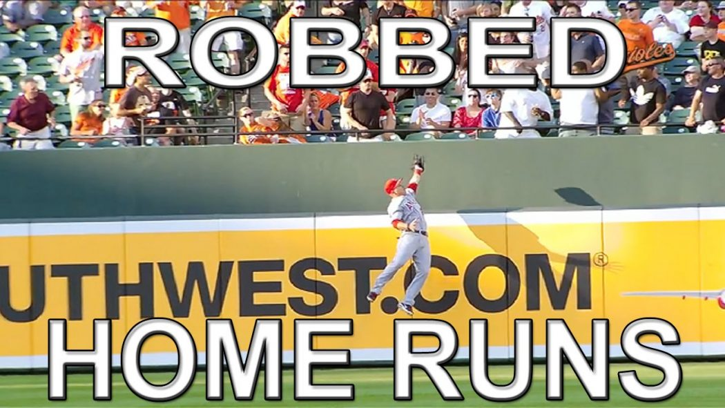 MLB: The Top Five Home Run Robberies