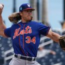 Noah Syndergaard New York Mets Philadelphia Phillies