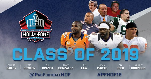 Pro Football Hall of Fame Class of 2019