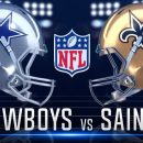 Sunday Night Football Dallas Cowboys New Orleans Saints