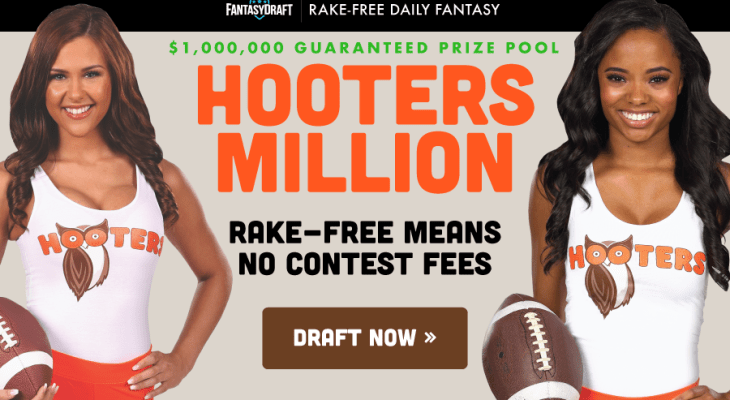 FantasyDraft Week 2 Hooters Million