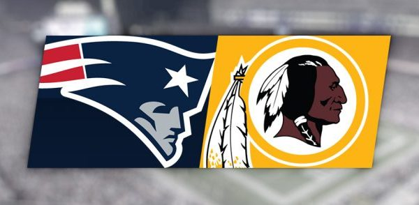New England Patriots Washington Redskins