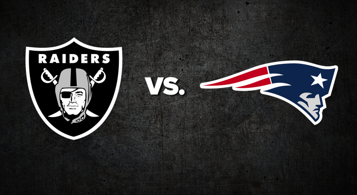 NFL Raiders Patriots