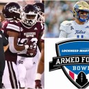 Armed Forces Bowl Golden Hurricane Bulldogs