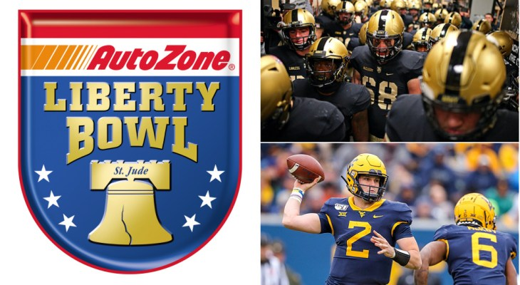 Liberty Bowl Mountaineers Black Knights