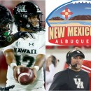 New Mexico Bowl Rainbow Warriors Cougars