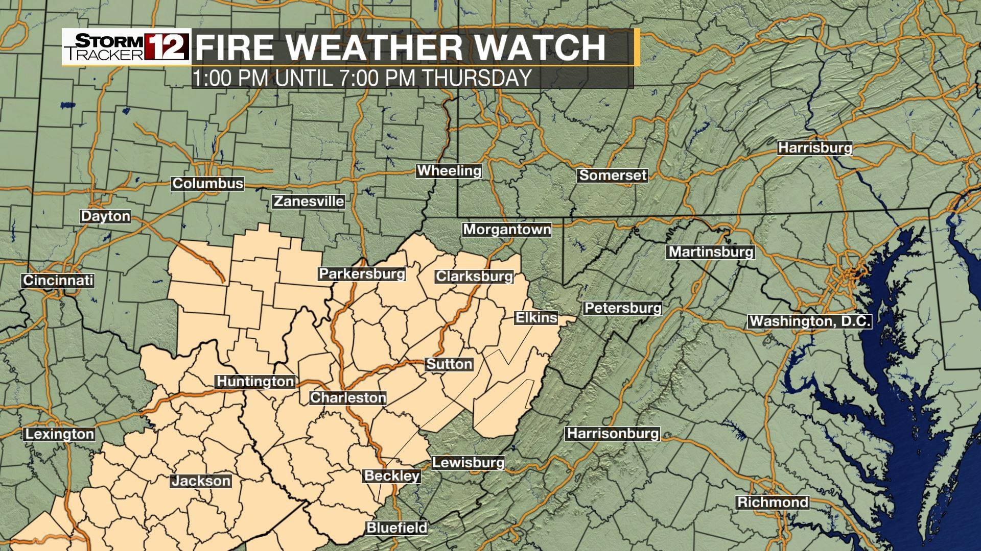 Fire Weather Watch