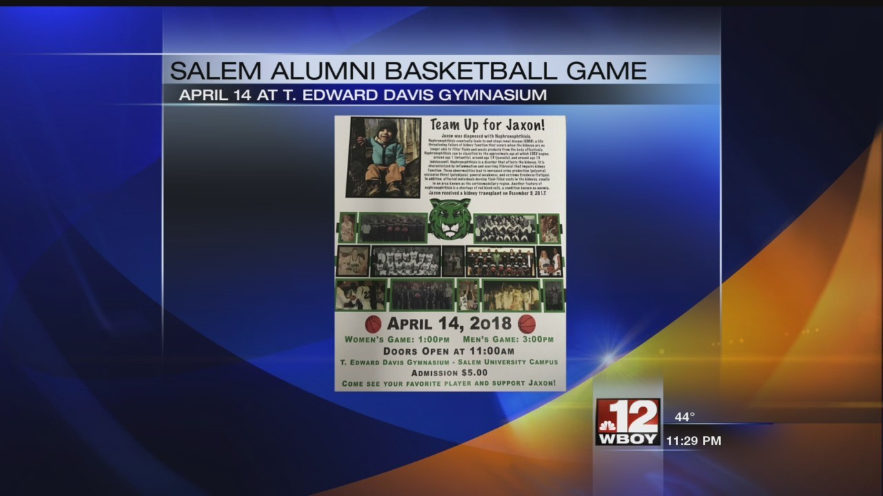 Salem alumni basketball games help good cause