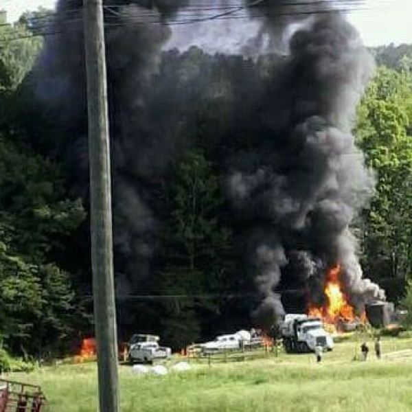 Doddridge County Explosion
