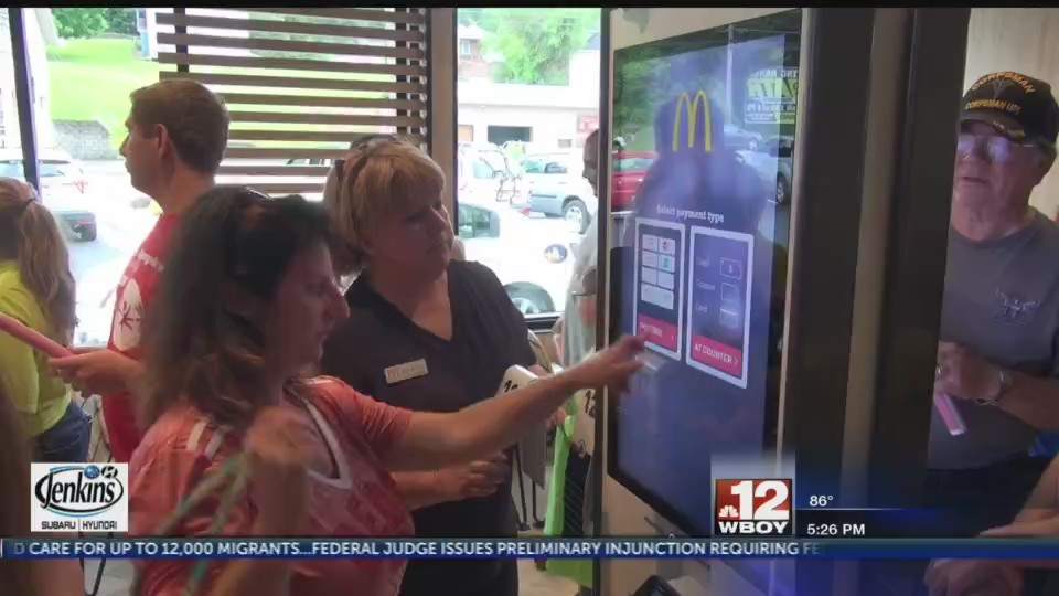 East Fairmont welcomes 'McDonald's of the future' for more customer-friendly service