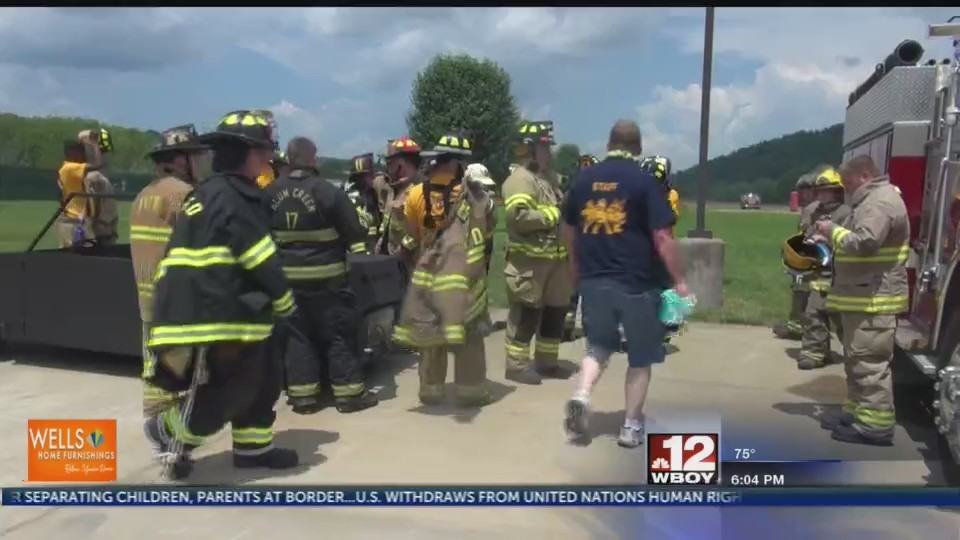 Jr. Firefighter Camp at Jackson's Mill brings participants from all over