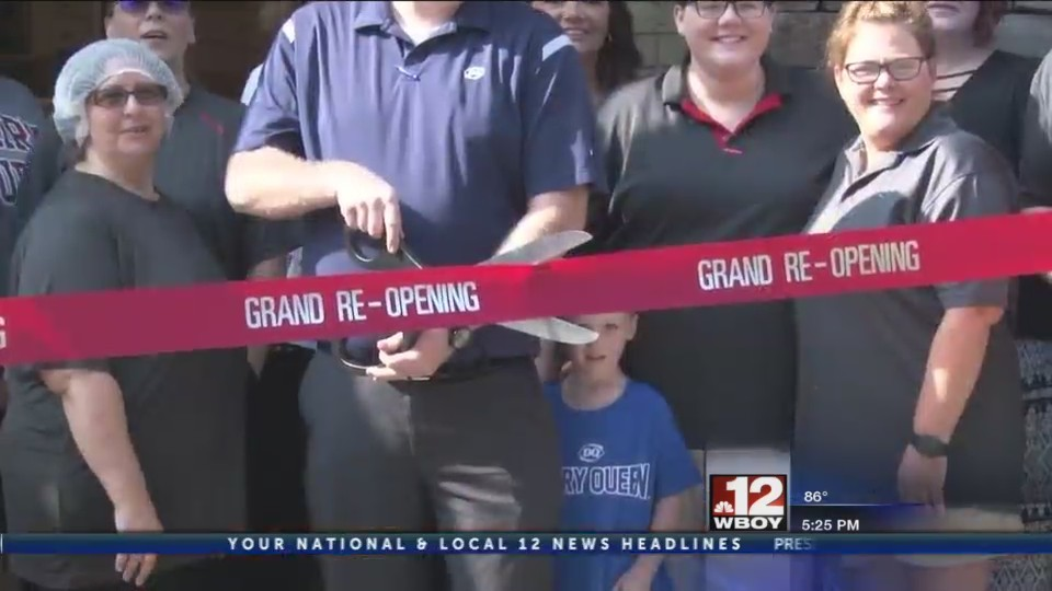 Salem Dairy Queen hosts grand re-opening event