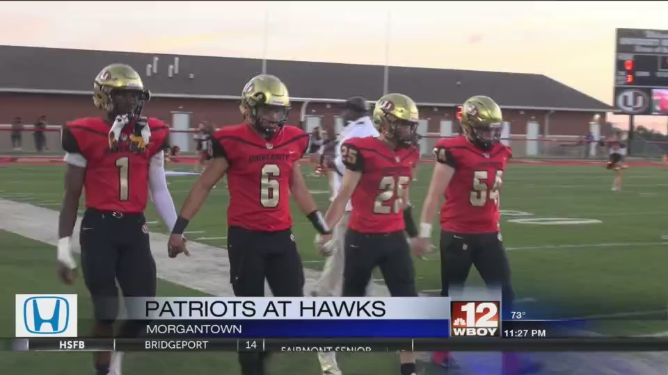 Football Friday Highlights:  University falls in a thriller at home, Morgantown beats up on Brooke on the road