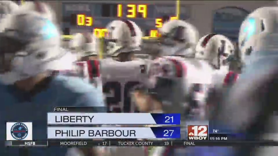 Friday Football Highlights: Philip Barbour upsets Liberty, Lewis County falls at home, and Grafton falls on the road.