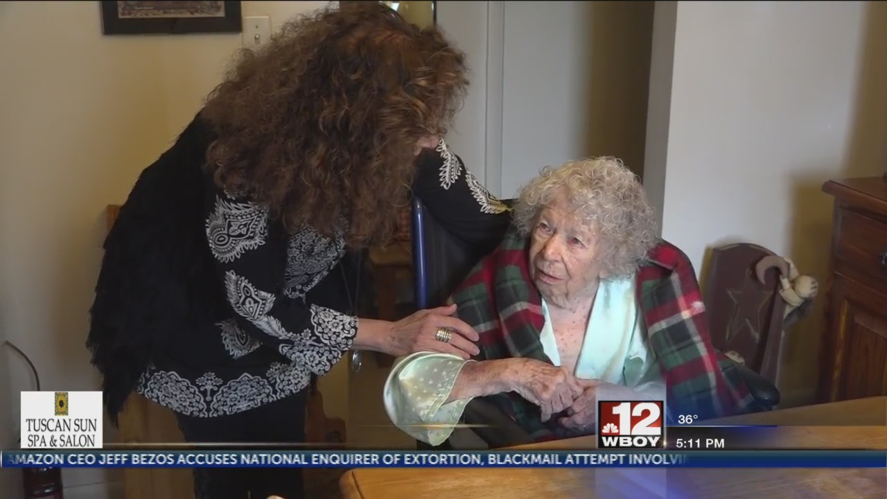 Local Internet star celebrates her 100th birthday