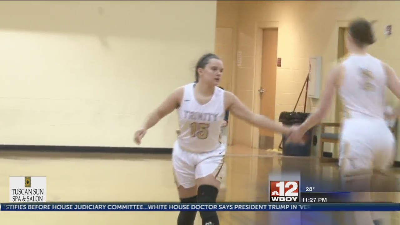 Trinity fends off Cee-Bees in Morgantown
