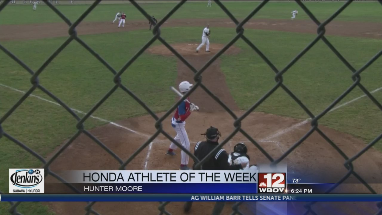 Lincoln's Hunter Moore named Honda Athlete of the Week