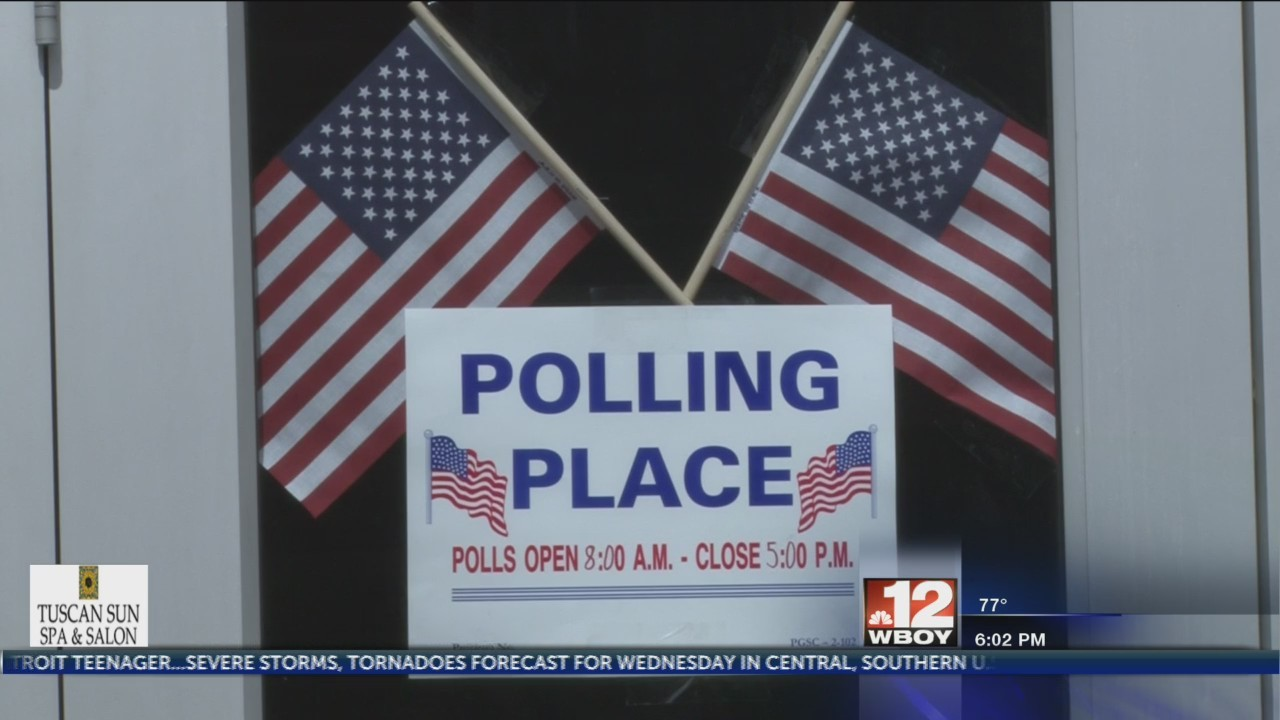 Polling locations open for first day of Morgantown City Council early voting