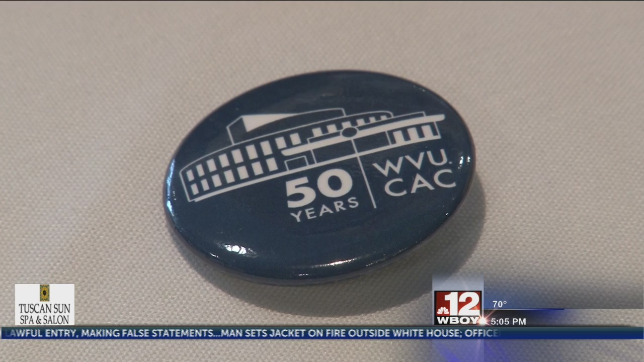 WVU Creative Arts Center celebrates 50th anniversary