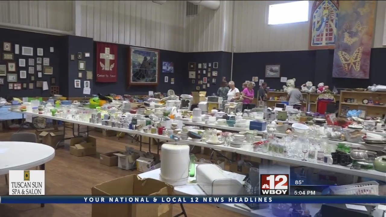 Duff Street United Methodist Church holds rummage sale to raise money towards 'Relay for Life'