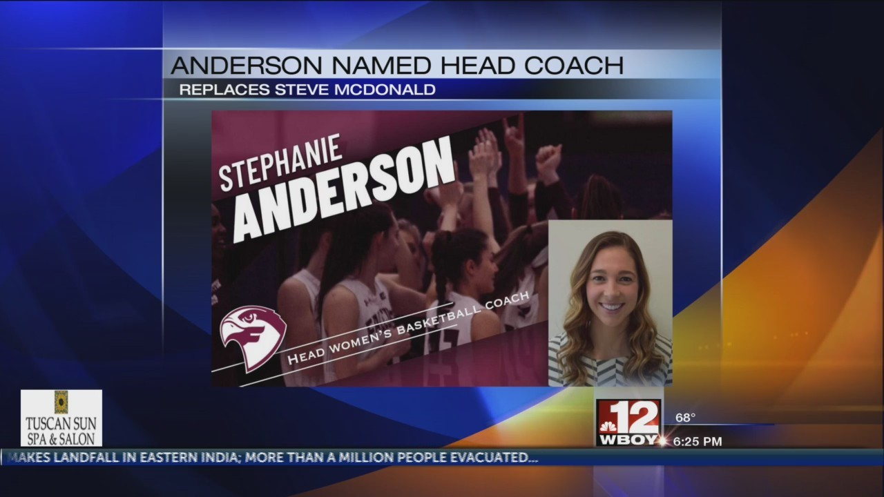 Fairmont State tabs Anderson as new women's basketball coach