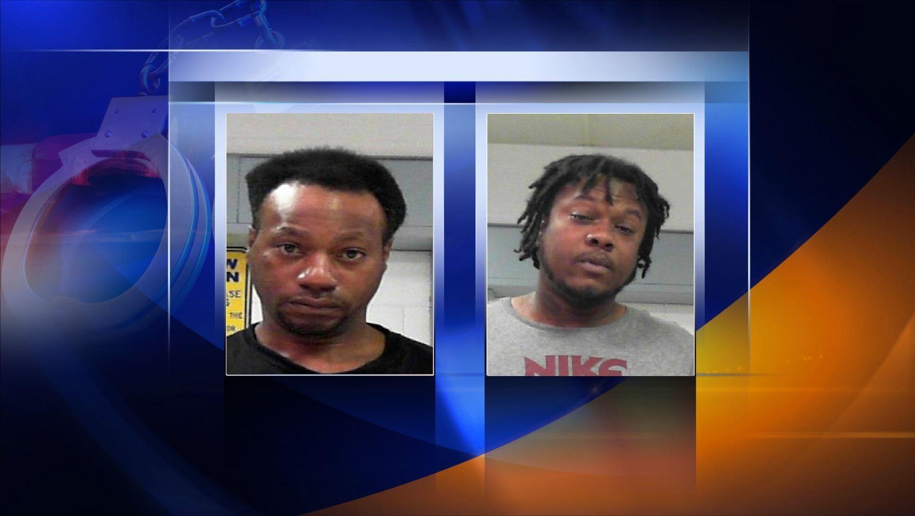2 men arrested after drug task force searches room at