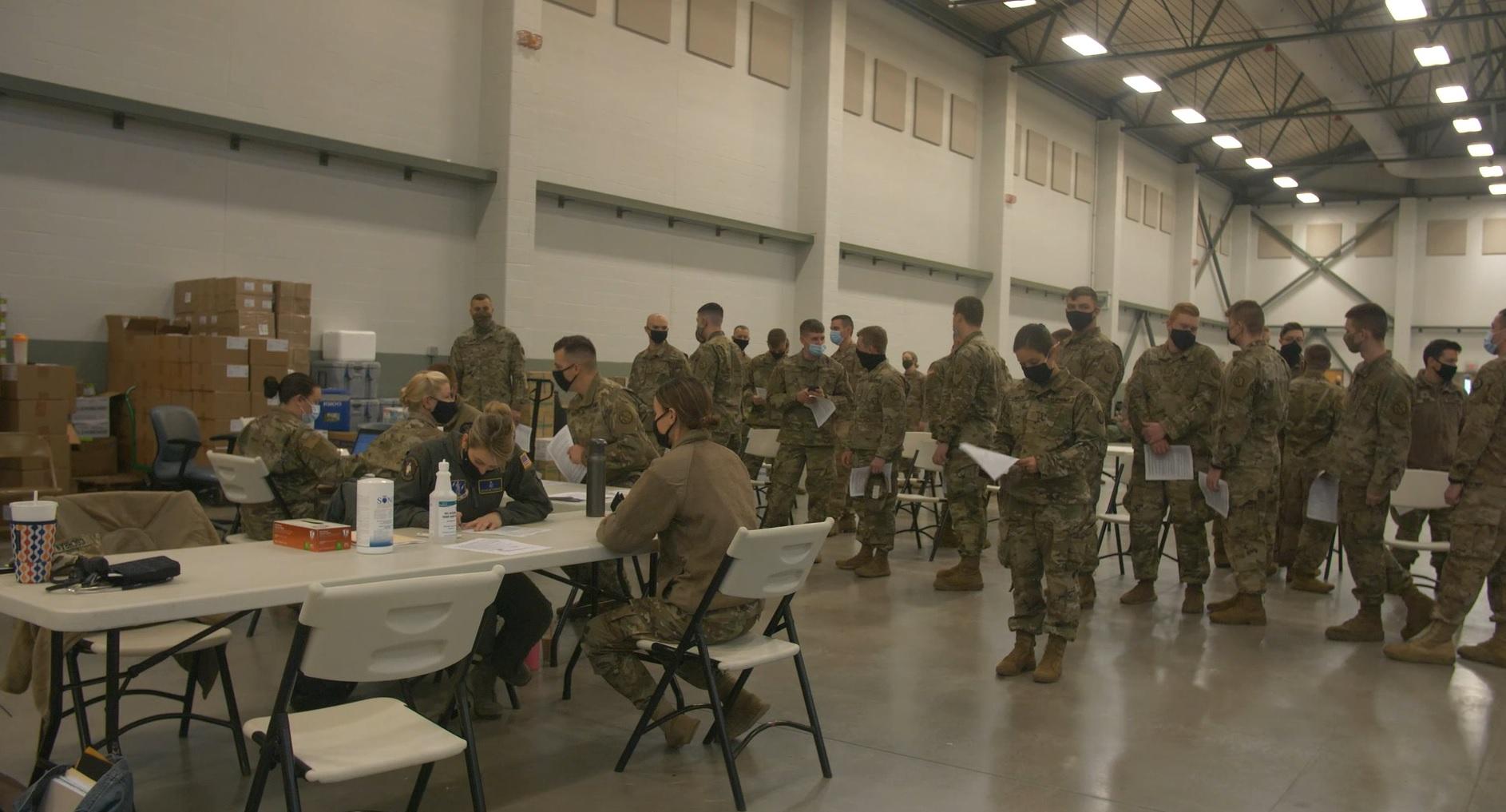 Wv National Guard Troops Deploy To Washington D C Wboy Com