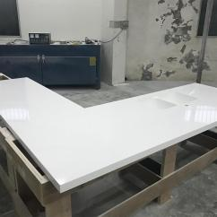 Corian Kitchen Countertops Cabinet Inserts Ideas Glacier White Solid Surface With Sink