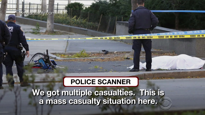 New York City attack: NYPD audio describes chaotic scene at