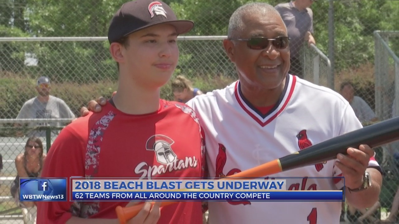 MLB Hall of Famer Ozzie Smith Visits Myrtle Beach
