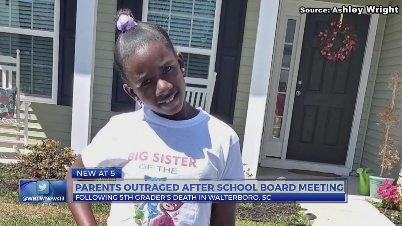 Parents outraged after school board meeting following 5th grader's death