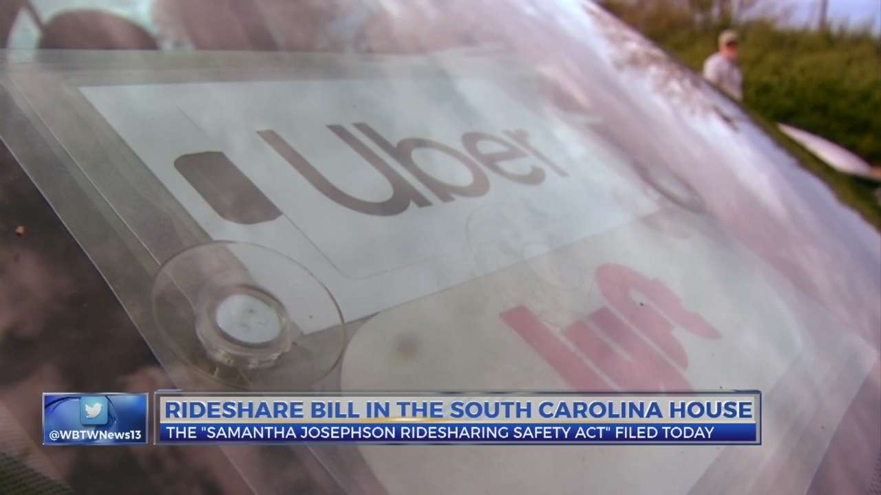 Ride share bill in the SC House