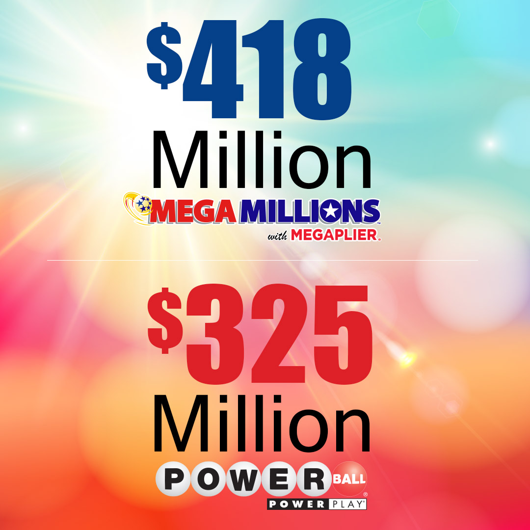 Sc Mega Millions Jackpot Reaches 418m Powerball Jackpot Up To 325m