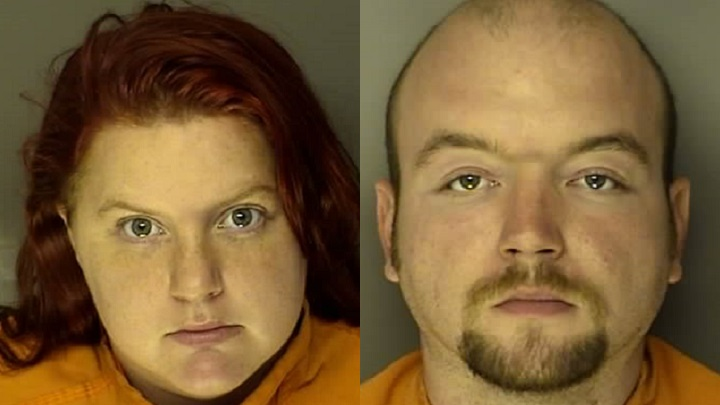 Jordan Marie Hodge (left) and Kenneth Wayne Carlisle (right). Photos: J. Reuben Long Detention Center.