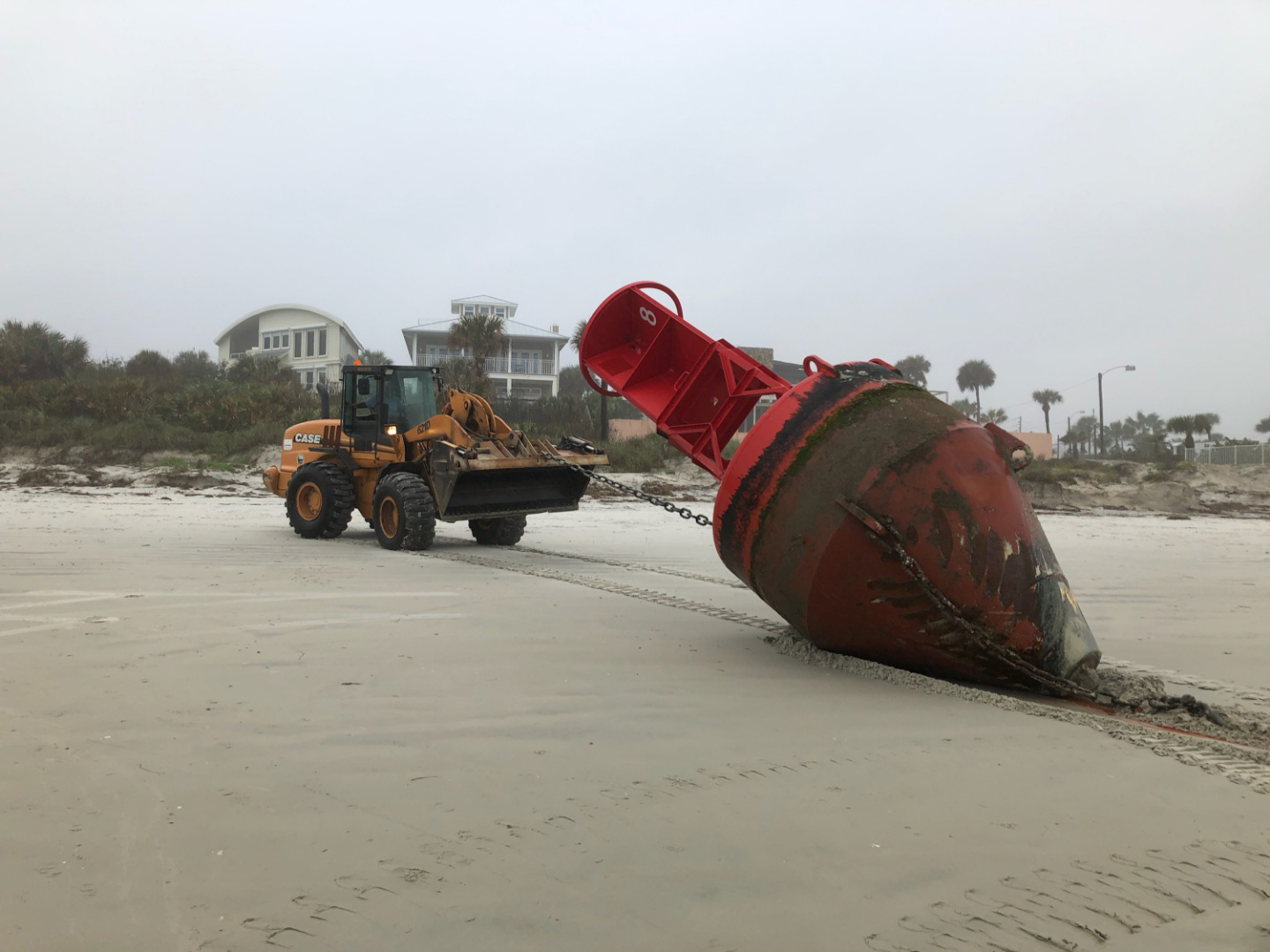 Buoy from South Carolina displaced by Hurricane Dorian washes ashore in Florida 2
