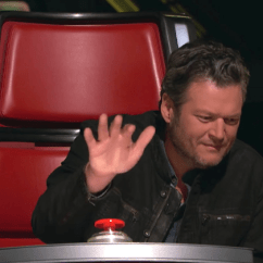 Baby Chair 1 Year Old Lane Office Chairs Blake Shelton Gets Surprising Addition To Team On 'the Voice' [video] | B104 Wbwn-fm