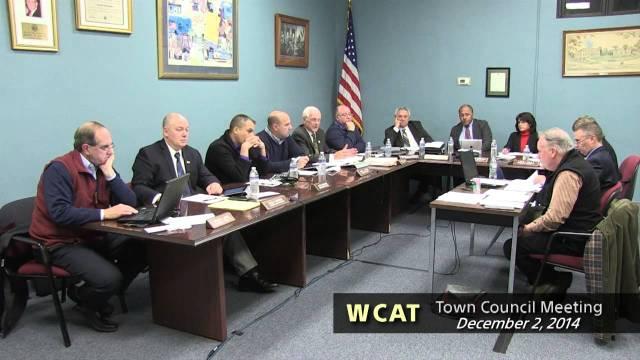 Winthrop Town Council, December 2, 2014