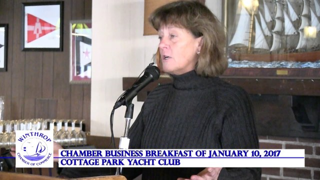 Winthrop Chamber Business Members Meeting & Breakfast, January 10, 2017